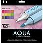 Spectrum Noir Spectrum Noir Aqua markers Floral 12st.