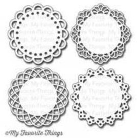 My Favourite Things Mini Doily Circles Die-namics