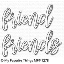 My Favourite Things Friend Duo Die-namics