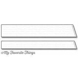 My Favourite Things Slanted sentiment strips die-namics