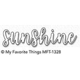 My Favourite Things Sunshine Die-namics