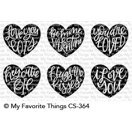 My Favourite Things Heart Art