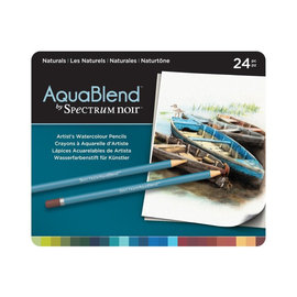 Spectrum Noir Spectrum Noir - Aqua Blend Pencils Naturals 24st.