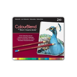 Spectrum Noir Spectrum Noir - Colour Blend Pencils Naturals 24st.