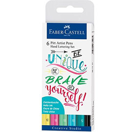 Faber Castell Faber  Castell Handlettering Be Unique, Be Brave