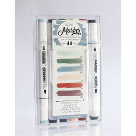 Studio Light Water Based Dual Tip Markers Winter Feelings - 07