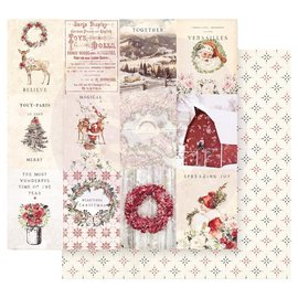 PRIMA MARKETING Spreading Christmas Magic double sided