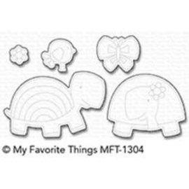 My Favourite Things Too cute turtles die-namics