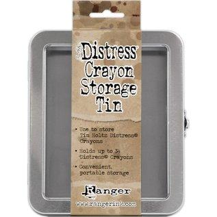 Ranger Tim Holtz Distress Crayon Tin - Empty