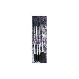PRIMA MARKETING Finnabair Art Basics Double-Ended Brush Set 4 st.