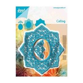 Joy! crafts Joy!Crafts • snijstencil Noor lovely oval