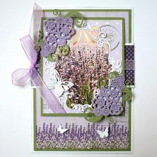 Joy! crafts Joy!Crafts • Snijstencil Daisy bloemen swirls