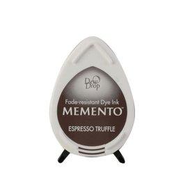 Tsukineko Memento dew drop ink pad espresso truffle