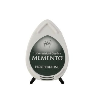 Tsukineko Memento dew drop ink pad northern pine