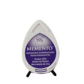 Tsukineko Memento dew drop ink pad grape jelly