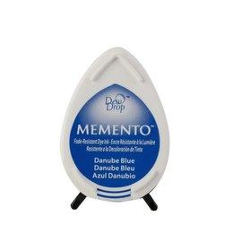 Tsukineko Memento dew drop ink pad danube blue