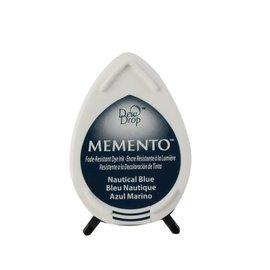 Tsukineko Memento dew drop ink pad nautical blue