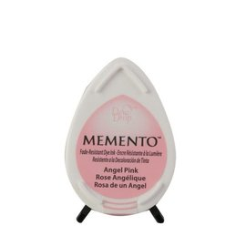 Tsukineko Memento dew drop ink pad angel pink