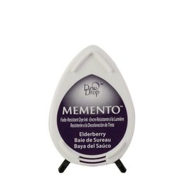Tsukineko Memento dew drop ink pad elderberry