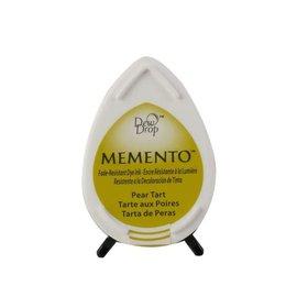 Tsukineko Memento dew drop ink pad pear tart