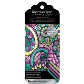 Spectrum Noir Colorista Dark Floral Bouquet Bookmarks
