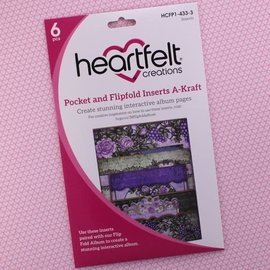 Heartfelt Creations Pocket and Flipfold Inserts A - Kraft