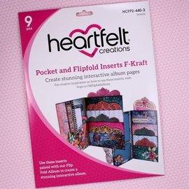 Heartfelt Creations Pocket and Flipfold Inserts F-Kraft