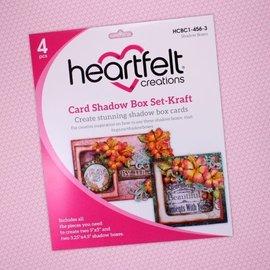 Heartfelt Creations Card Shadow Box Set-Kraft
