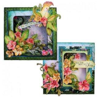 Heartfelt Creations Card Shadow Box Set-Black