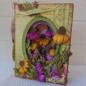 "Heartfelt Creations 5"" x 7"" Layered Ovals Card-Kraft"