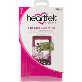 Heartfelt Creations Cut Mat Create Dies-1A
