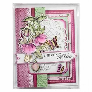 Heartfelt 4 3/8 x 5 5/8 Clear Boxes - 10 Pack