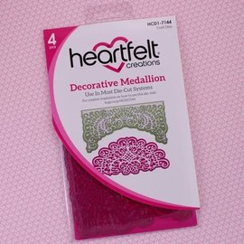 Heartfelt Creations Decorative Medallion Die