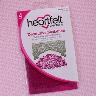 Heartfelt Creations Decorative Medallion Die