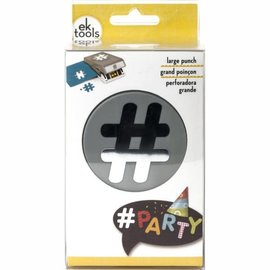 Groovi EK tools large punch hashtag
