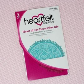 Heartfelt Creations Heart of Joy Decorative Die