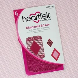 Heartfelt Creations Diamonds & Lace Die
