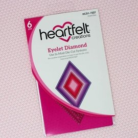 Heartfelt Creations Eyelet Diamond Die
