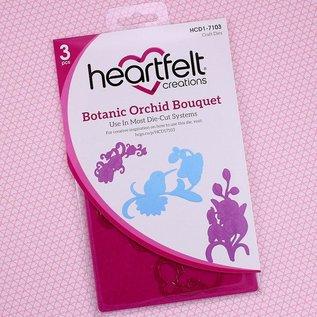 Botanic Orchid Bouquet Die