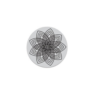 HeroArts Repositionable Rubber Stamps - Star Flower Cling
