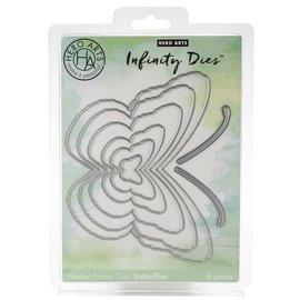 HeroArts Infinity Dies-Nesting Butterflies