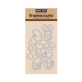 HeroArts Frame Cuts - Dies - Mouse Tea Party