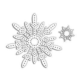 Penny Black Stitch A Snowflake