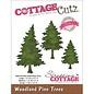 """Cottage Cutz CottageCutz Elites Die Woodland Pine Trees 1""""X1.5"""" To 1.5""""X2.5"""""""