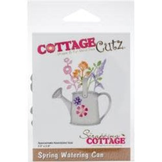 "Cottage Cutz CottageCutz Dies Spring Watering Can 2.5""X2.9"""