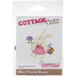 "Cottage Cutz CottageCutz Dies Miss Petunia Bunny 2.2""X2.5"""
