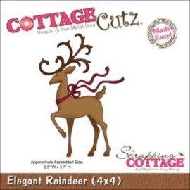 """Cottage Cutz CottageCutz Die Elegant Reindeer 2.5""""X3.7"""""""