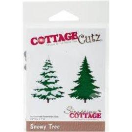 """Cottage Cutz CottageCutz Dies Snowy Tree, 2.2""""X3.1"""""""