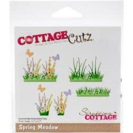 """Cottage Cutz CottageCutz Dies Spring Meadow 3.1""""X.7"""""""