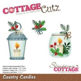 """Cottage Cutz CottageCutz Dies Country Candles 1"""" To 2.6"""""""